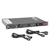 ah 19'' Parts AHPCL10PRO - Power Conditioner con amperometro/voltmetro, display e illuminazione