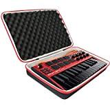 Co2CREA - Custodia rigida da viaggio per AKAI Professional MPK Mini MK3 – Controller tastiera MIDI USB a 25 tasti ...