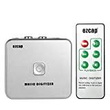Docooler Ezcap Audio Capture Recorder Digitizzatore Musicale con Porte da 3,5 mm e RCA IN Salva nel Disco USB della ...