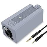 Donner EM1 Amplificatore per In-Ear Monitor, Amplificatore per Cuffie, Sistema di monitoraggio in-ear Portatile, Mini Amplificatore Stereo Personale