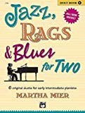 Jazz, Rags & Blues for Two–Book 1–Early Intermediate