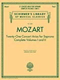 Mozart: Twenty-One Concert Arias for Soprano, Complete