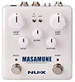 NUX | Masamune Booster & Kompressor Pedal Guitar booster e compressore con routing interno