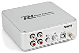 Power Dynamics PDX015 Preamplificatore Phono Software USB 2.0 argento