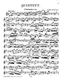 Quintet for Clarinet and Strings, Op. 19