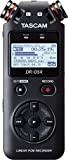 TASCAM DR-05X - Registratore audio stereo portatile professionale con interfaccia audio USB, Supporti microSD, microSDHC o microSDXC, Nero
