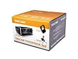 Tascam TRACKPACK 2x2, US-2x2 x2TP, Pacchetto di registrazione completo, Nero/Argento, 1 pz.