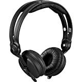 Zomo - Kit padiglioni in pelle per cuffia Sennheiser HD25, colore: Nero