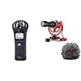 Zoom H della 1N/220ge Handy Recorder, Nero & Rode microphones VideoMicroMicrofono Direzionale Compatto per fotocamere DSLR, videocamere e registratori audio ...