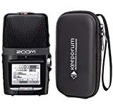 Zoom H2n - Registratore audio portatile + custodia morbida Keepdrum