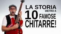 La storia dietro a 10 famose chitarre!